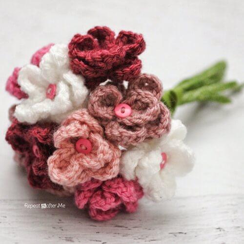Crochet Flower Bouquet