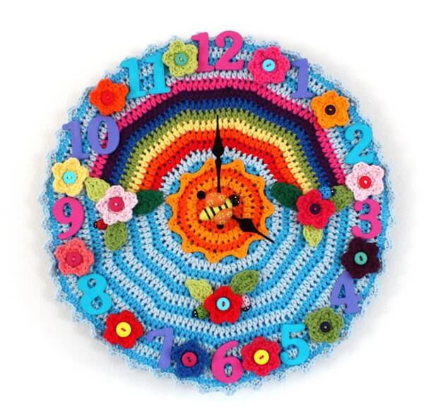 Crochet O'clock Tutorial