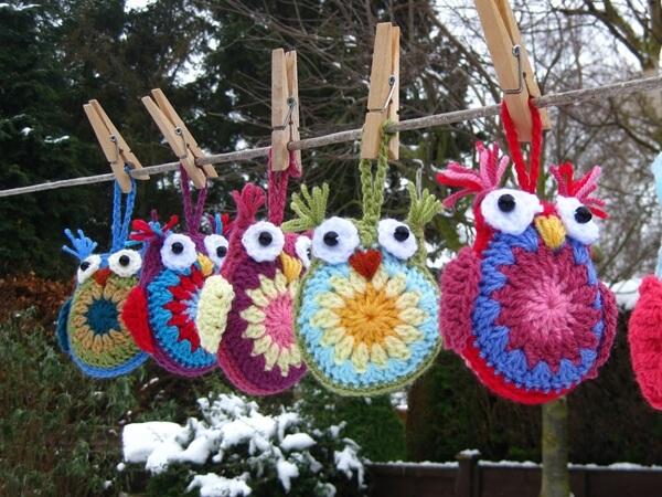 Easy Crochet Owl