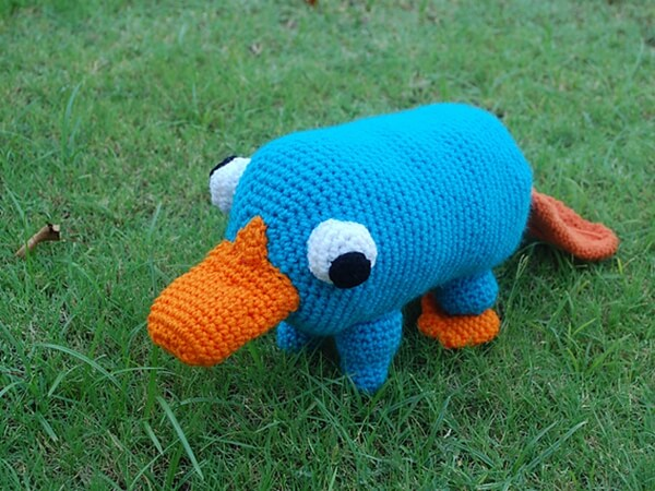 Plushie Pet Platypus