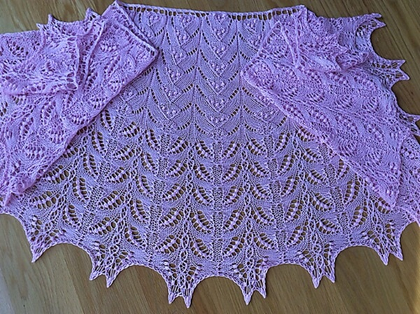 Ice Cream Cones Shawl