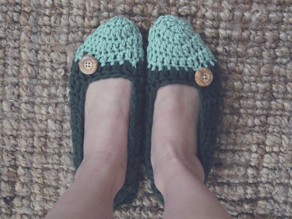 Capped Slippers