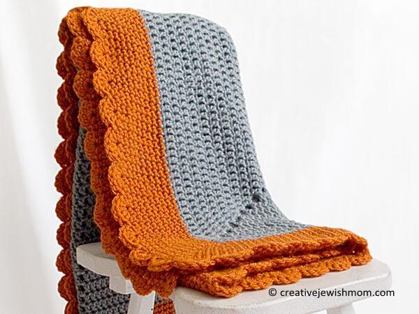 Starburst Baby Blanket
