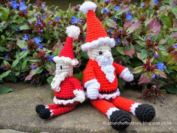 Amigurumi Father Christmas : Crochet Share a Pattern Page 117