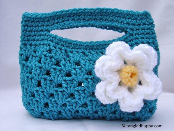 Granny Stripe Boutique Bag