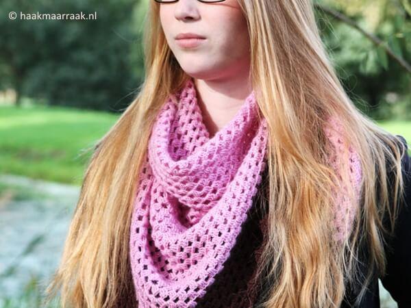 Vintage Sweet shawl