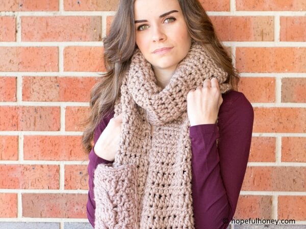 Oversized Scarf Crochet Pattern