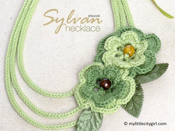 Sylvan Crocheted Necklace