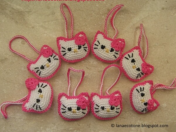 Testa di Hello Kitty