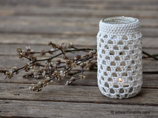 crochet jar pattern