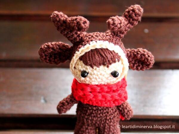Reindeer Doll Amigurumi