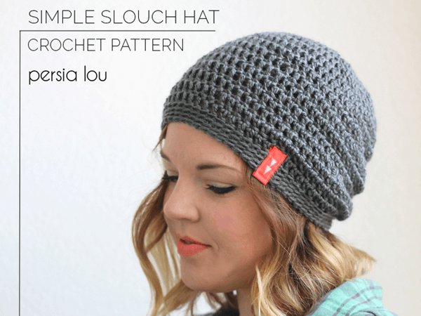 Easy Crochet Slouchy Hat Patterns : Simple Slouch Crochet Hat Pattern Share a Pattern