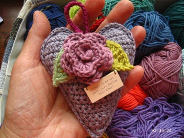 Rose Heart Hanger