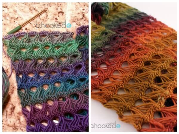 Broomstick Lace Infinity Scarf Share A Pattern