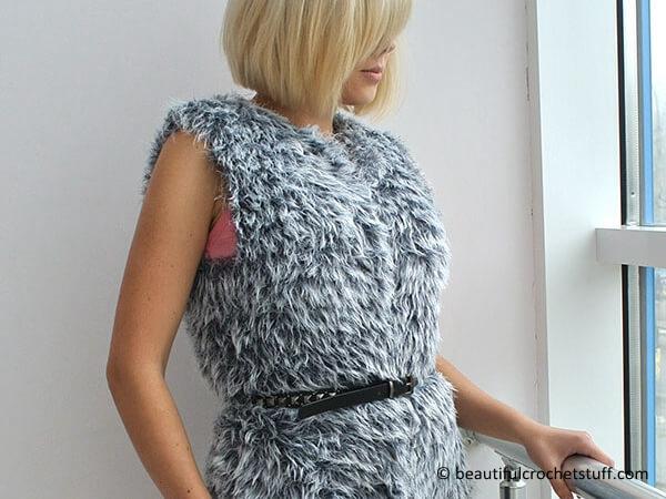 Free Easy Crochet Vest Pattern Share A Pattern