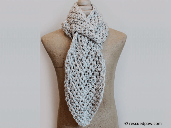 Pull Through Adjustable Scarf