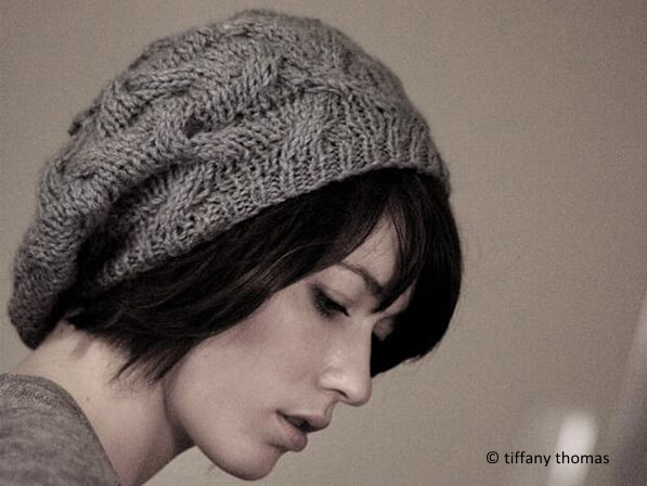 c3a77f553b79f Star Crossed Slouchy Beret – Share a Pattern