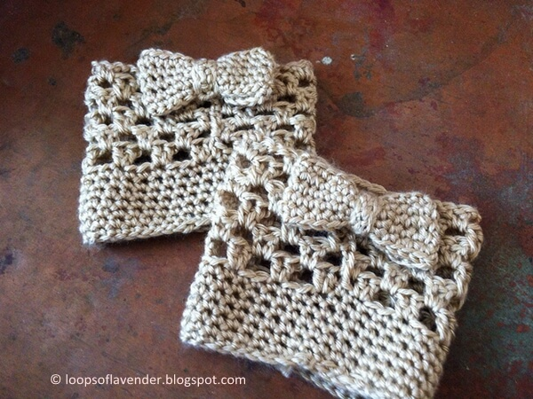 Bow Boot Cuffs