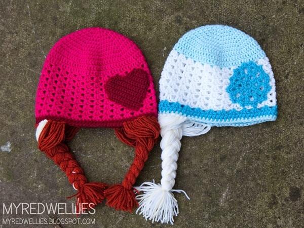Anna & Elsa Hats