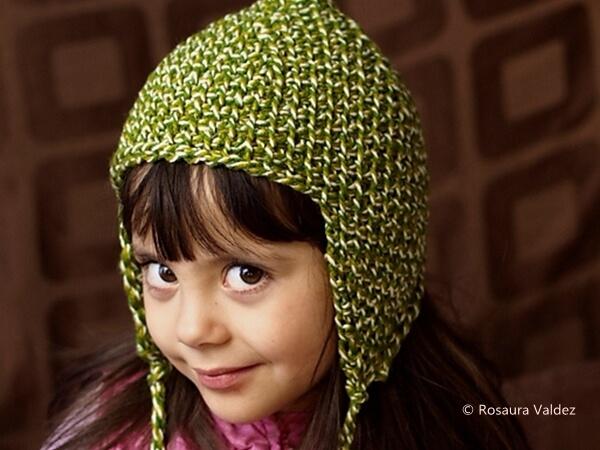 Tunisian pixie hat