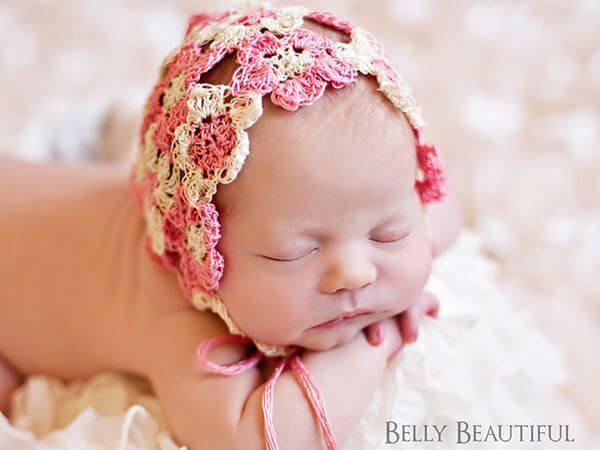 Heirloom Thread Flower Bonnet