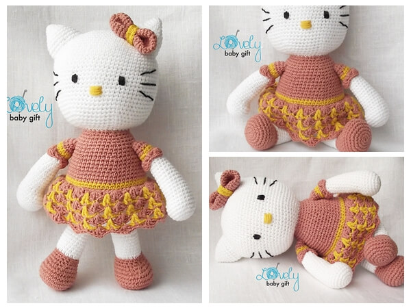 Kitty Crochet Pattern