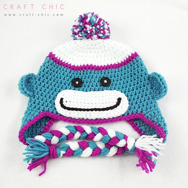 Sock Monkey Hat Share A Pattern