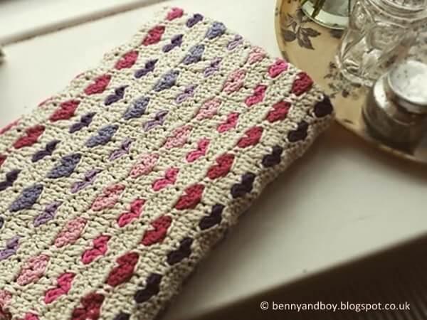 Tiny Heart Blanket