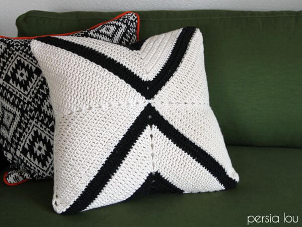 Crochet X Pillow Pattern