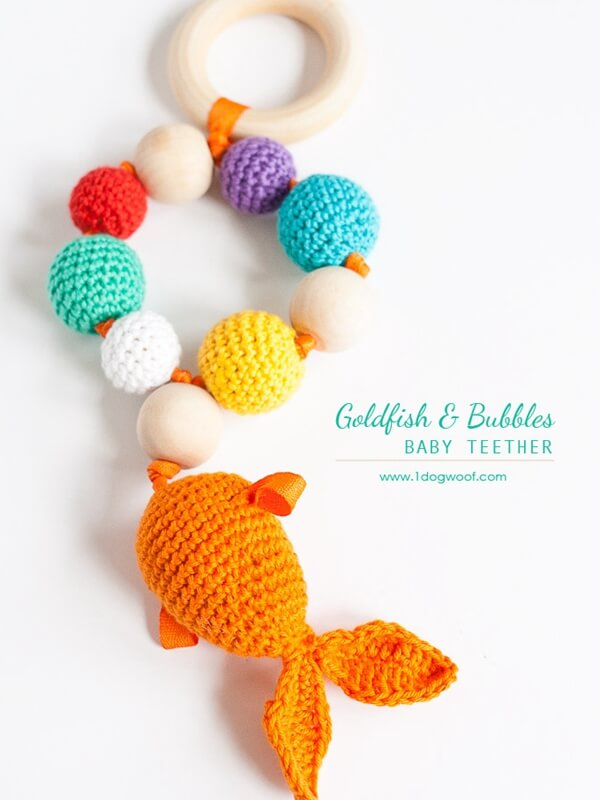 Bubbles Goldfish Teether