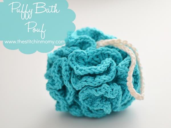 Puffy Bath Pouf