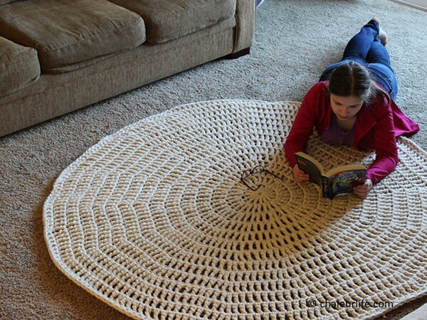 Thick & Quick Crochet Area Rug