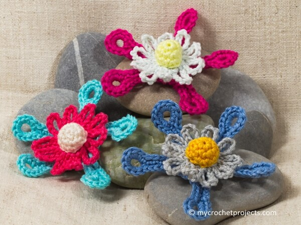 Futuristic Crochet Flower