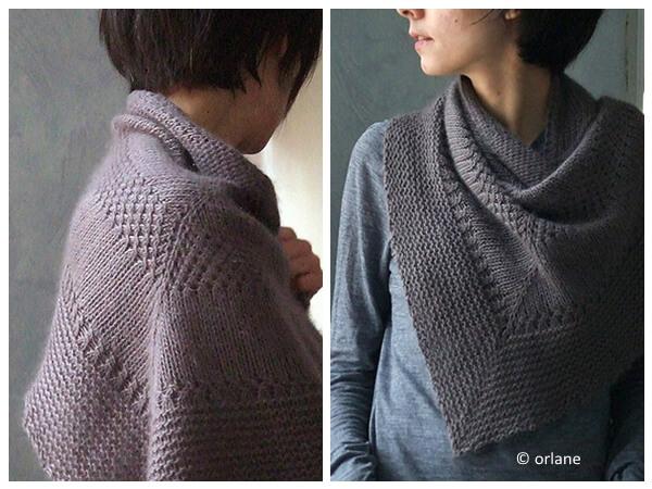 textured shawl recipe