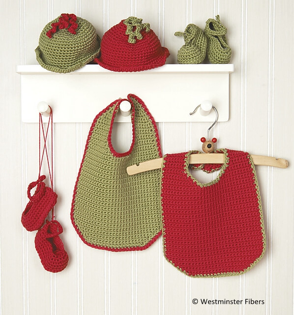 Baby Gifts - Bib, Shoes, and Cap