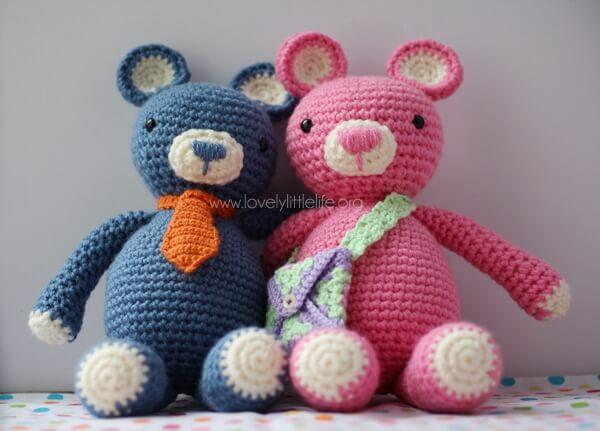 Bertie & Beatrix Bear