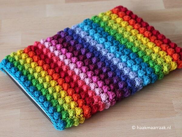 Rainbow Bobble Sleeve