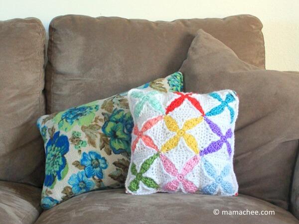 Quilt Inspired Crochet Square