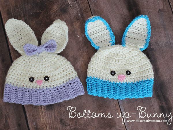 Bottoms up Bunny Hat