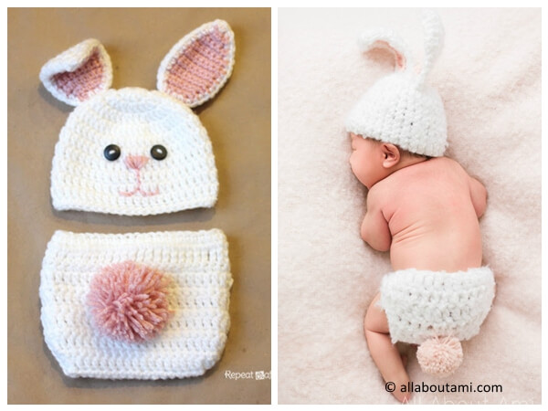 fuzzy baby bunny outfit
