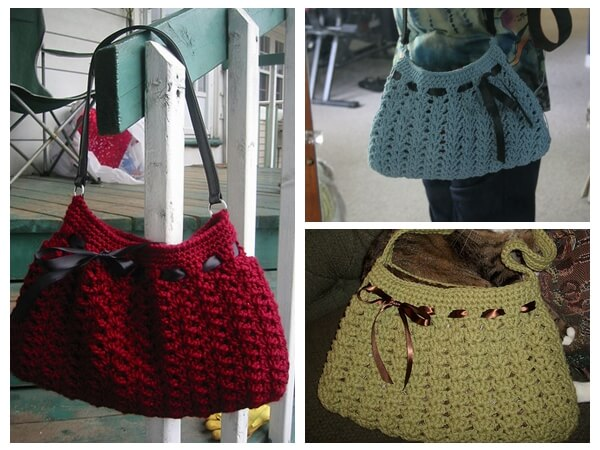 Nordstrom Crochet Hobo Bag Share a Pattern