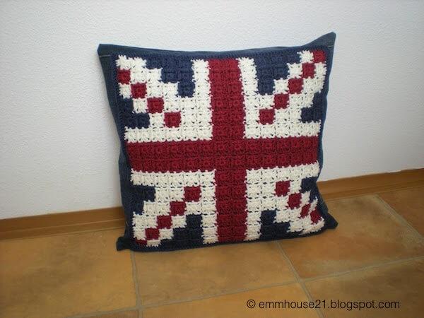 Union Jack pillowcase