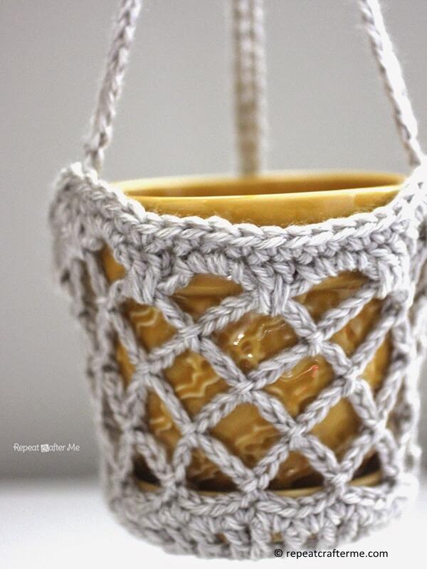 Flower Pot Hanging Basket