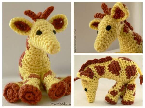 Gendry the Crochet Giraffe