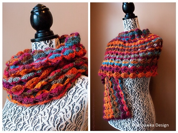 Painted Sunrise Summer Wrap