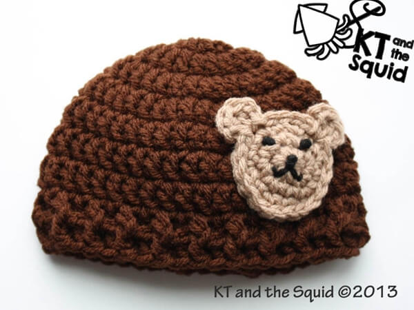 The Applique Bear Hat