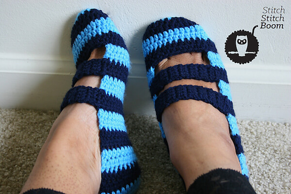Double Strapped Slippers