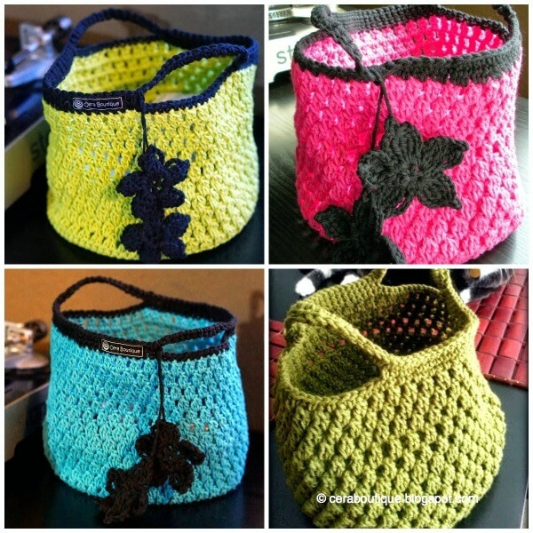Cotton Lunch Tote