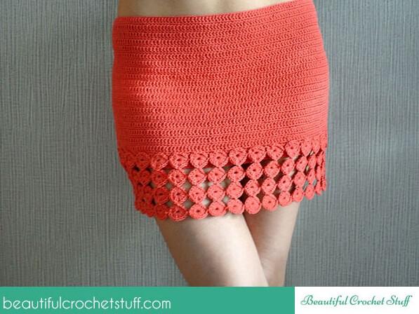 Crochet Skirt Free Pattern – Share a Pattern