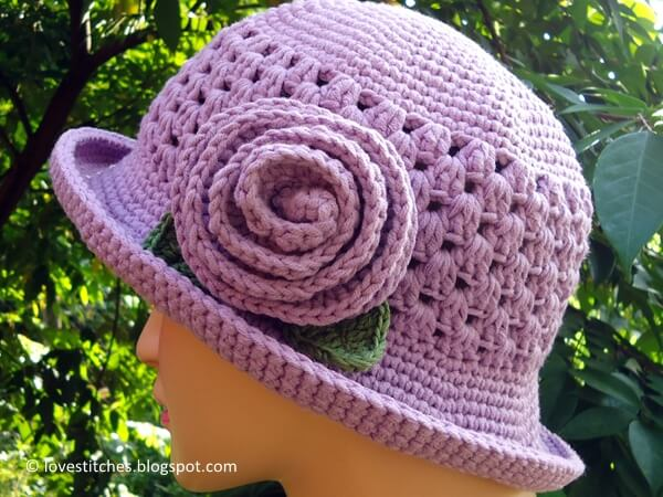 Granny Brimmed Hat Share A Pattern